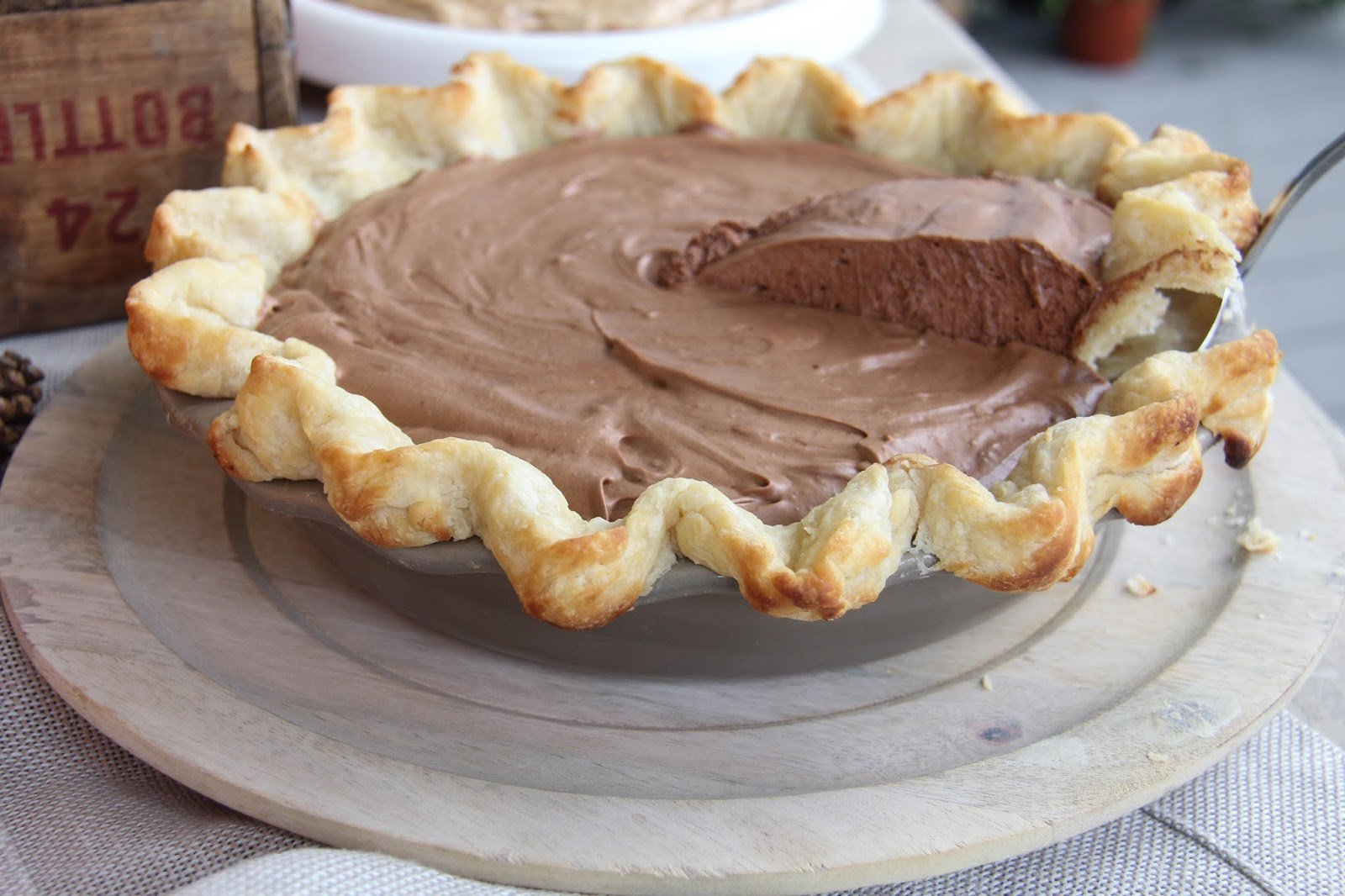 Thanksgiving Chocolate Pie  A Bountiful Kitchen thanksgiving