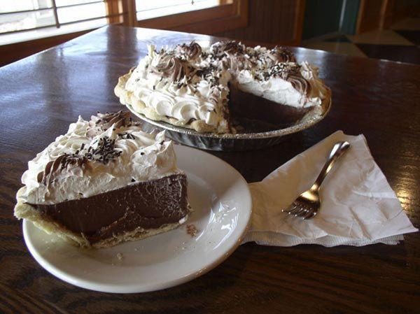 Thanksgiving Chocolate Pie  Thanksgiving Dutch Chocolate Pie I love pumpkin pie What
