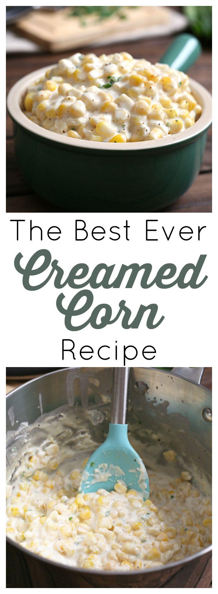 Thanksgiving Corn Recipes  25 best Creamed Corn ideas on Pinterest