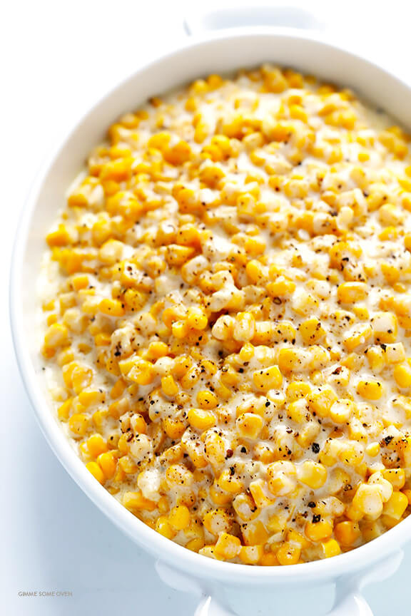 Thanksgiving Corn Recipes  Slow Cooker Creamed Corn
