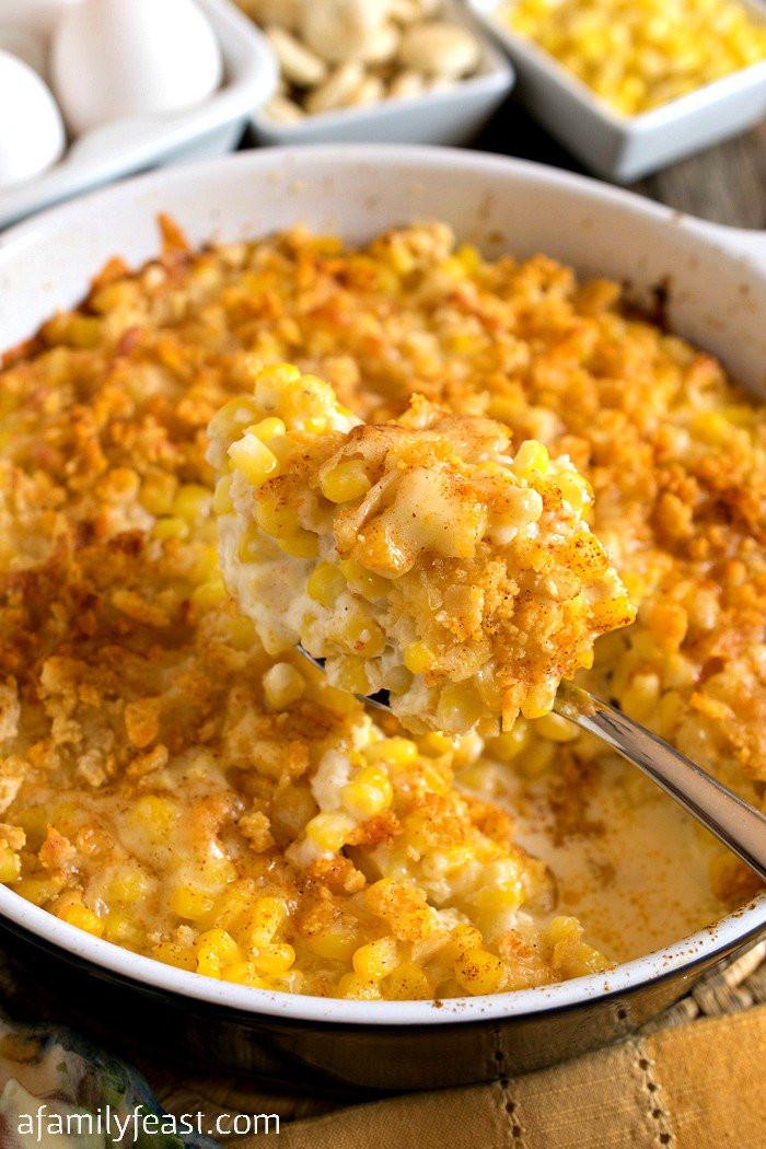 Thanksgiving Corn Recipes  Nantucket Corn Pudding A Family Feast