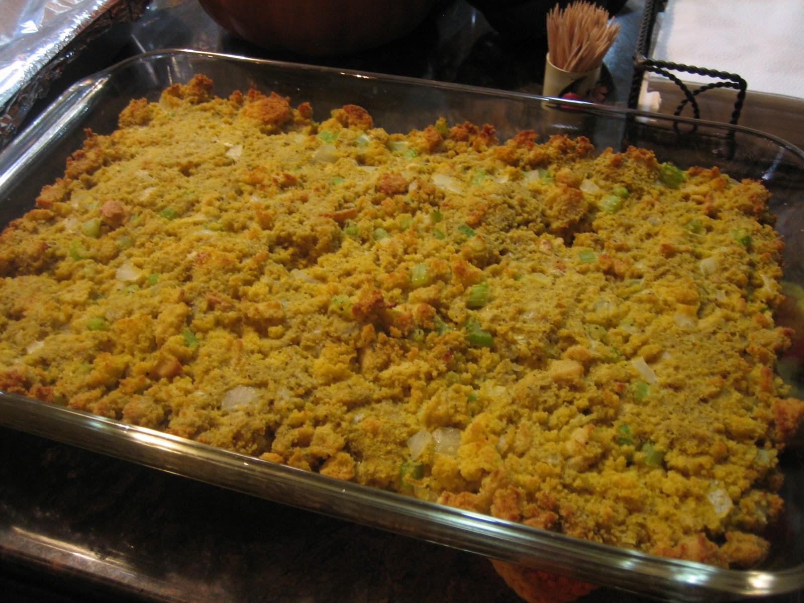 Thanksgiving Cornbread Dressing  Discovering the Extraordinary Thanksgiving Gluten Free