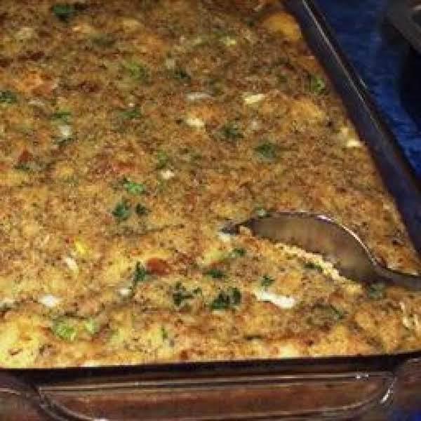 Thanksgiving Cornbread Dressing  Southern Cornbread Dressing Recipe
