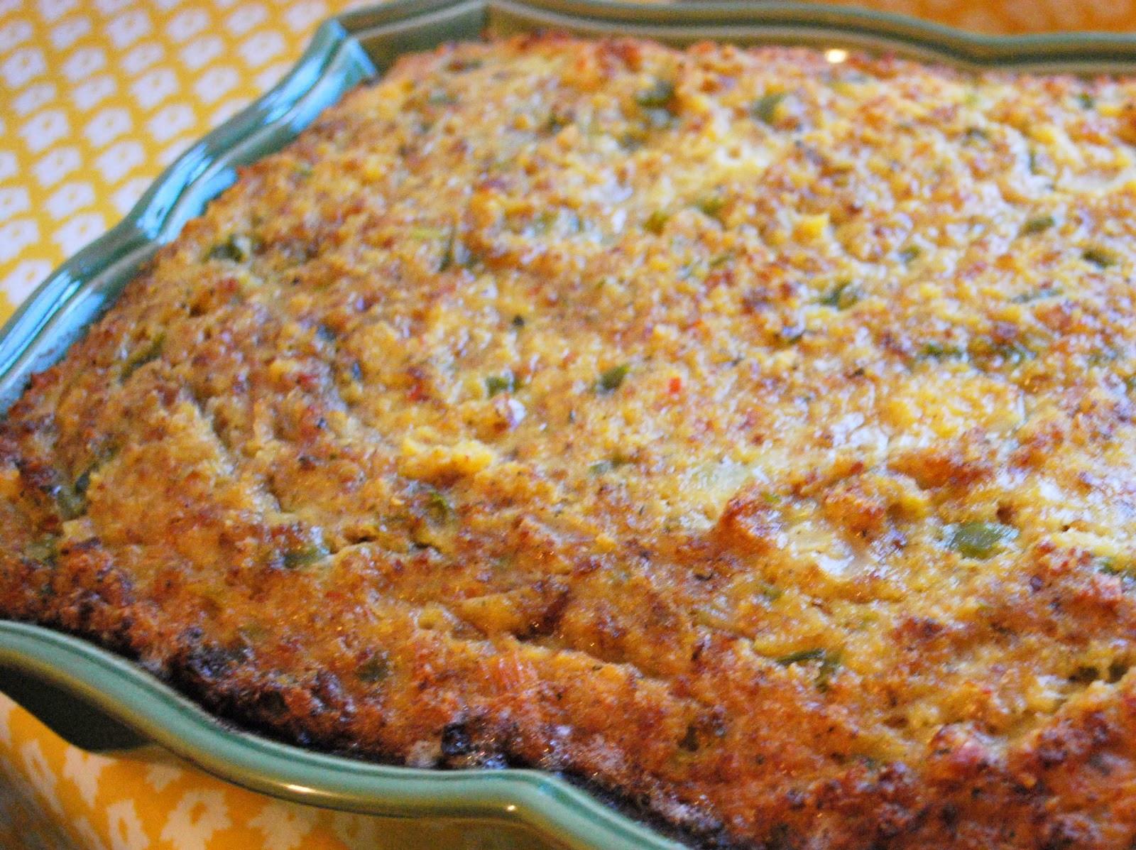 Thanksgiving Cornbread Dressing  Belle of the Kitchen The Thanksgiving Star Cajun