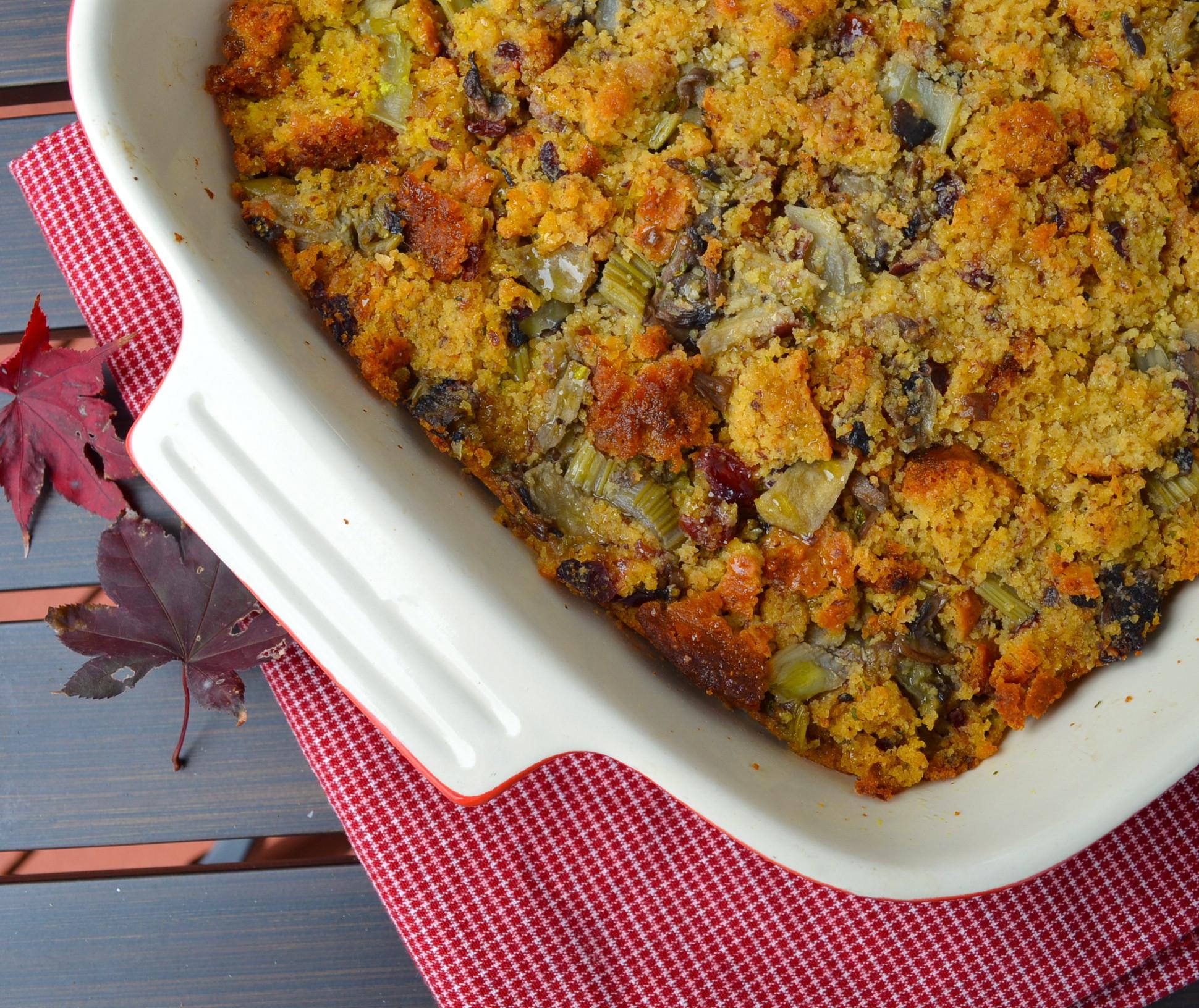 Thanksgiving Cornbread Dressing  Ideas For A Vegan Thanksgiving Part 4 Apple Chestnut