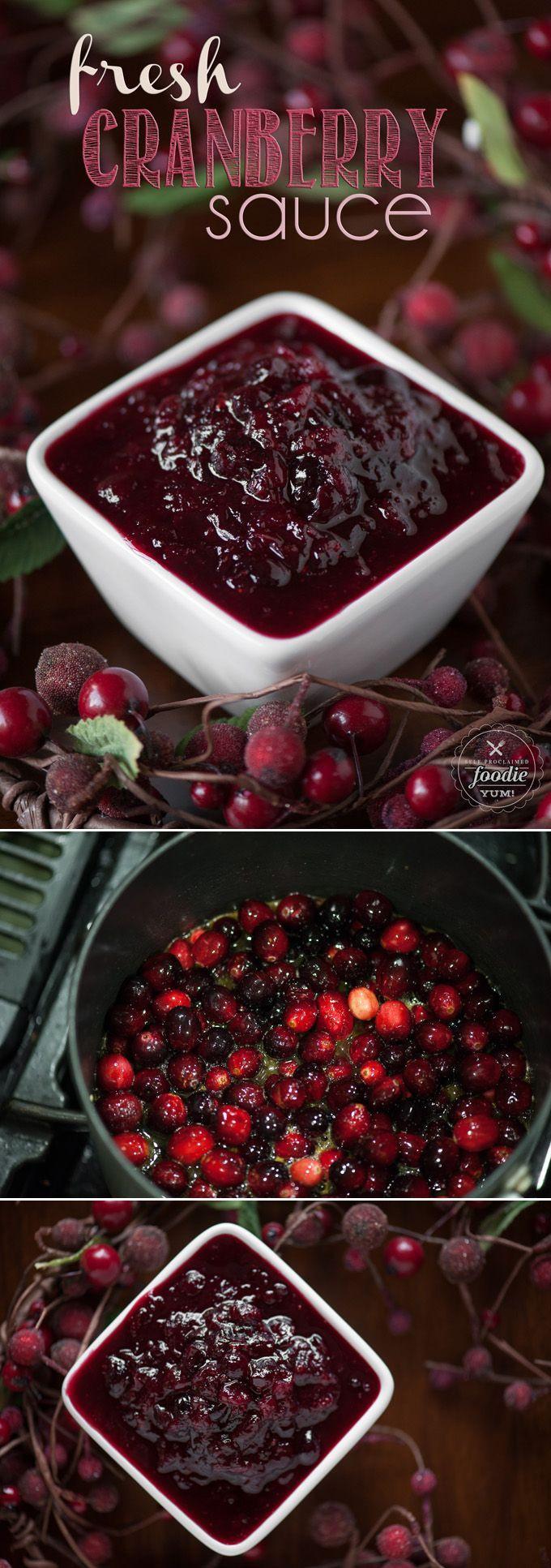 Thanksgiving Cranberry Recipes  17 Best ideas about Cranberry Sauce on Pinterest