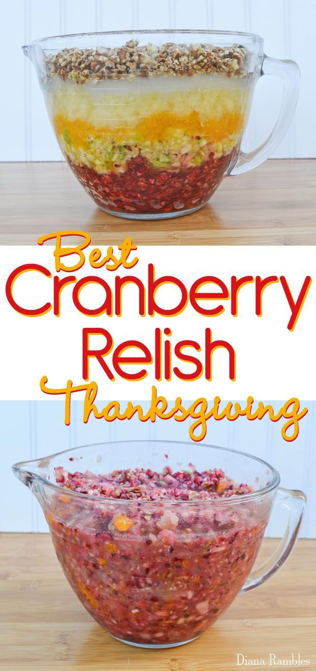 Thanksgiving Cranberry Recipes  Best 25 Cranberry relish ideas on Pinterest