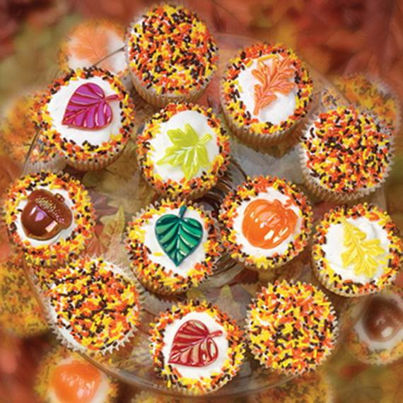 Thanksgiving Cupcakes Decorating Ideas  Easy Thanksgiving Cupcake Decorating Ideas family