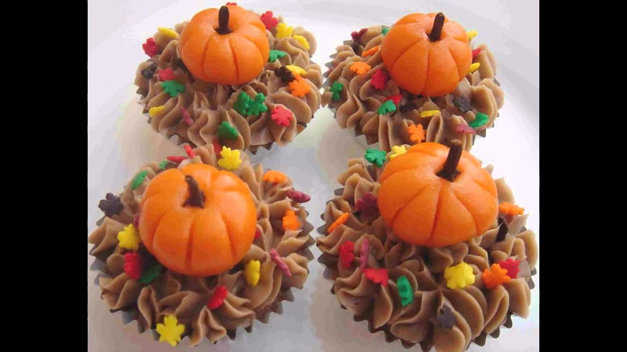Thanksgiving Cupcakes Decorating Ideas  Best Thanksgiving cupcake decorating ideas