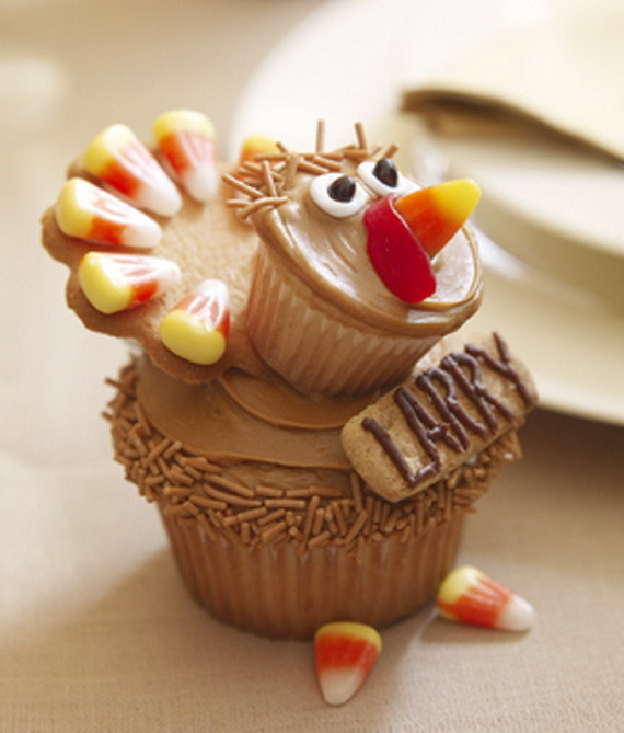 Thanksgiving Cupcakes Decorations  Easy Adorable Thanksgiving Cupcake Decorating Ideas