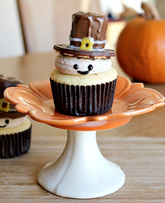 Thanksgiving Cupcakes Decorations  50 Cute Thanksgiving Treats For Kids