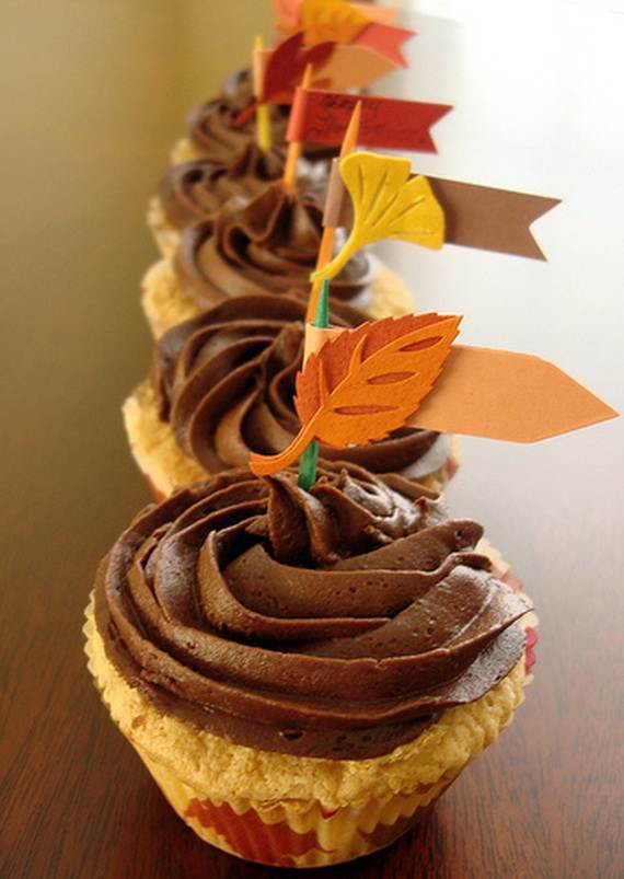Thanksgiving Cupcakes Decorations  Easy Thanksgiving Cupcake Decorating Ideas family