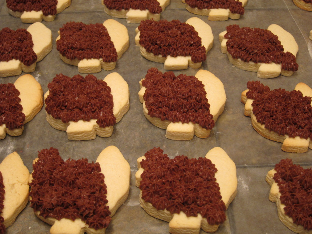 Thanksgiving Cut Out Cookies  Turkey Cut Out Cookie Tutorial The Kitchen Prescription