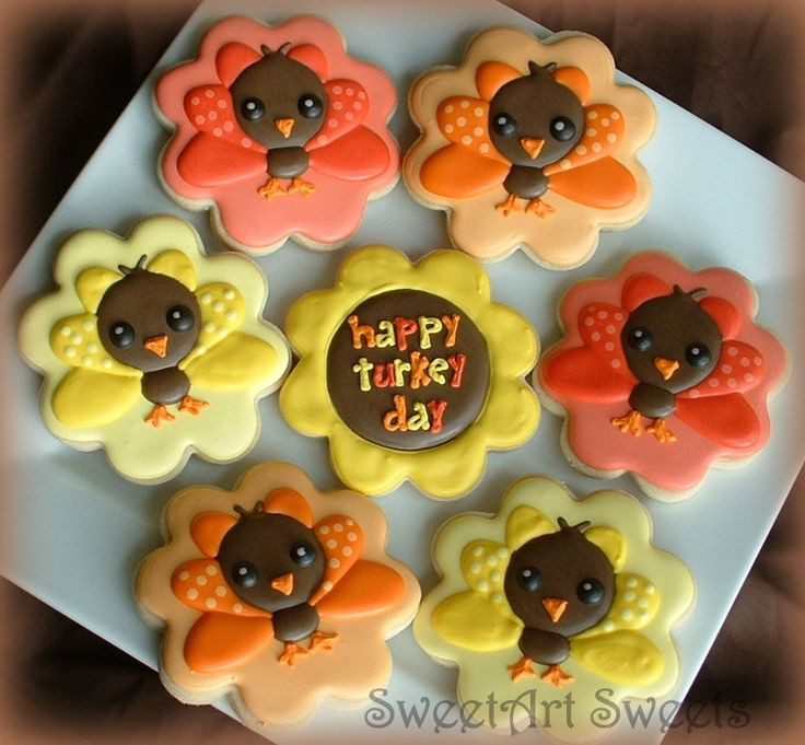 Thanksgiving Cut Out Cookies  25 Best Ideas about Turkey Cookies on Pinterest