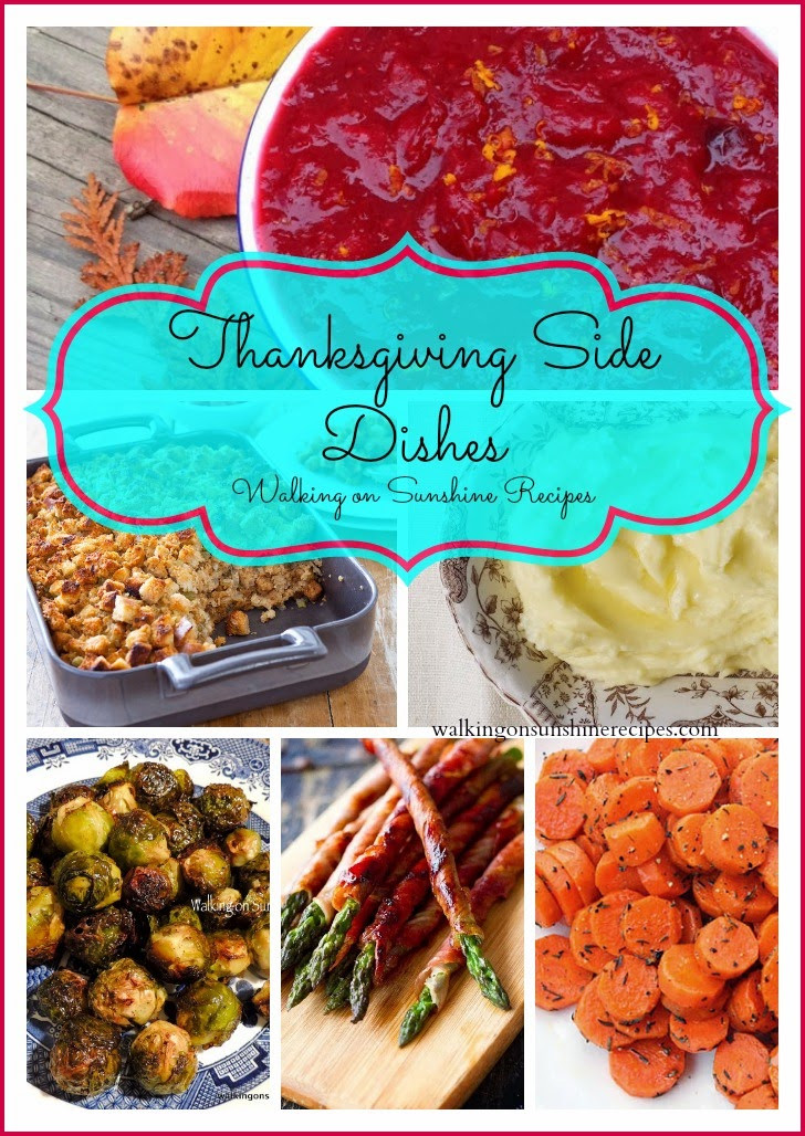 Thanksgiving Day Side Dishes  Holidays Thanksgiving Day Side Dishes 2014 Walking
