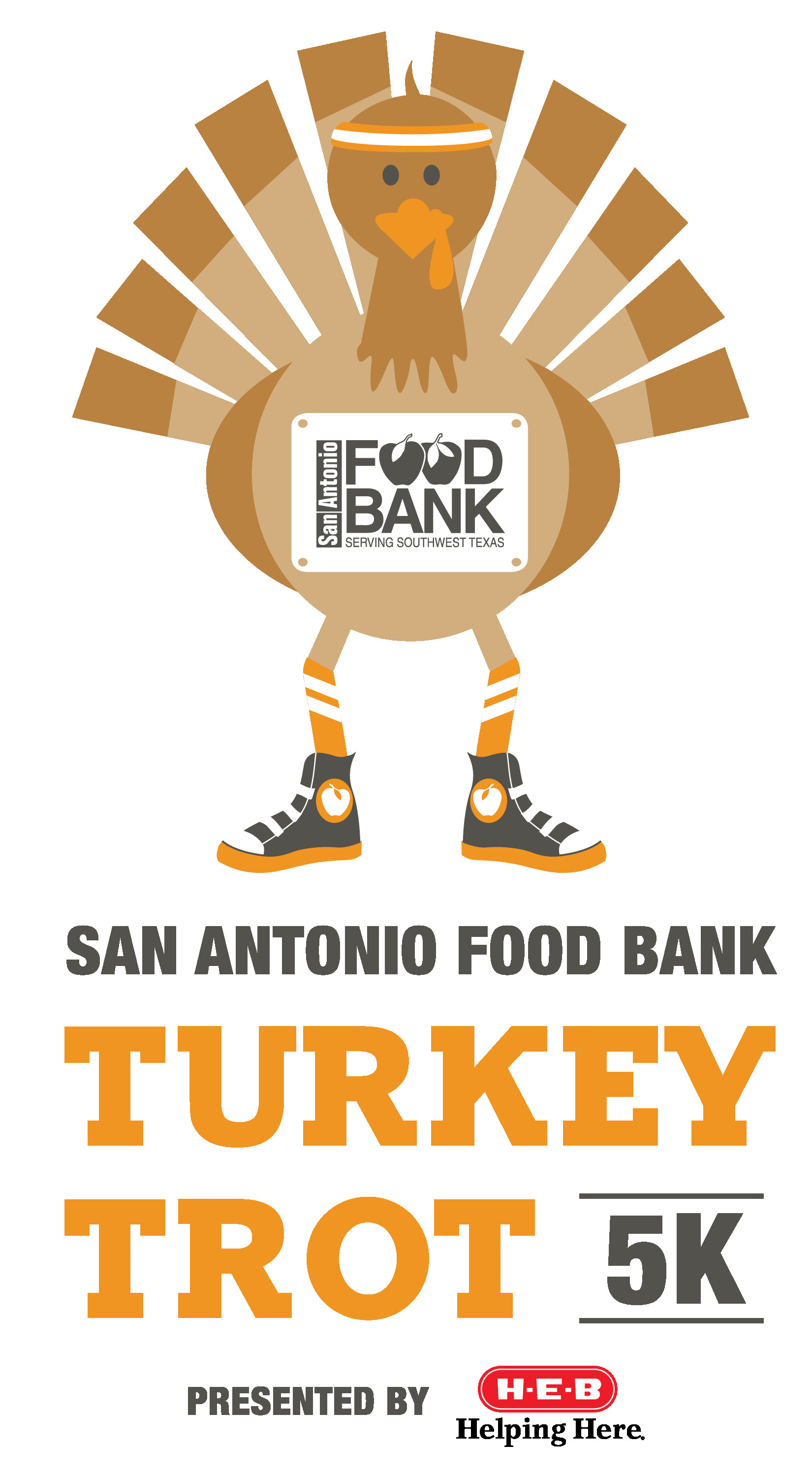 Thanksgiving Day Turkey Trot  Turkey Trot 5K Run Walk San Antonio Food Bank