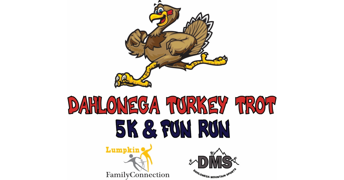 Thanksgiving Day Turkey Trot  Dahlonega s 4th Annual Thanksgiving Day Turkey Trot 5k and