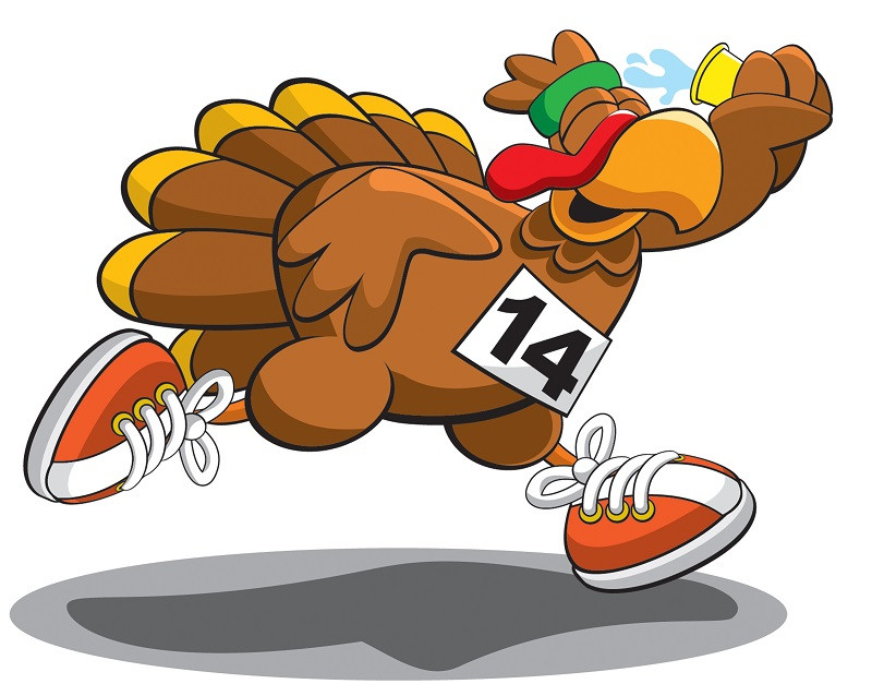 Thanksgiving Day Turkey Trot  Turkey Burn Fun Ways to Work off Thanksgiving Dinner