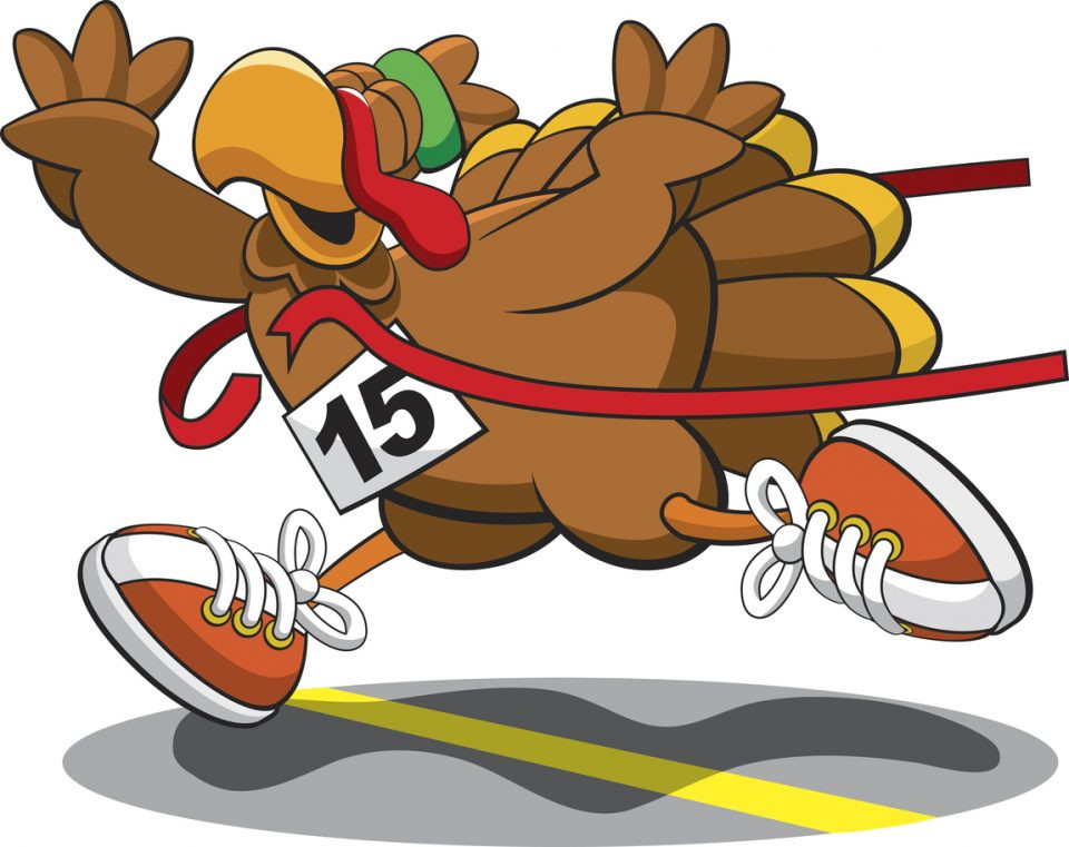 Thanksgiving Day Turkey Trot  Join in for the 5K Gobble Gobble Run or Wobble and Kids