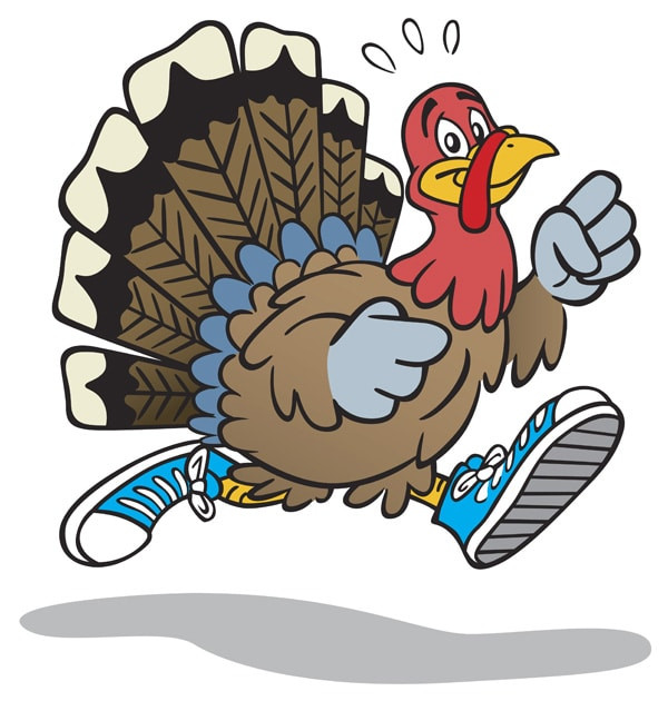 Thanksgiving Day Turkey Trot  Cathe Friedrich Cathe s Turkey Trot 5K 2013 Race is