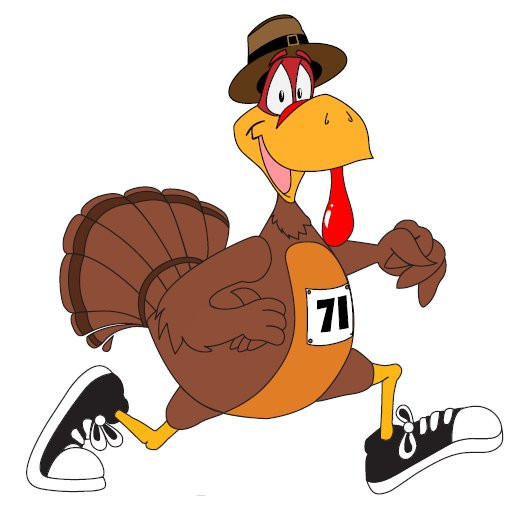 Thanksgiving Day Turkey Trot  Thanksgiving Day Turkey Trot Cliparts