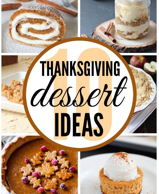 Thanksgiving Dessert Ideas  Thanksgiving Dessert Ideas Classy Clutter