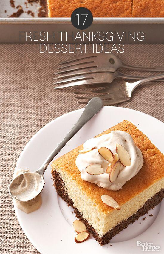 Thanksgiving Dessert Ideas  17 Fresh Thanksgiving Dessert Ideas