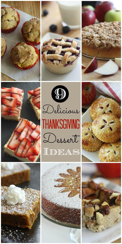 Thanksgiving Dessert Ideas  Last Minute Thanksgiving Dessert Ideas