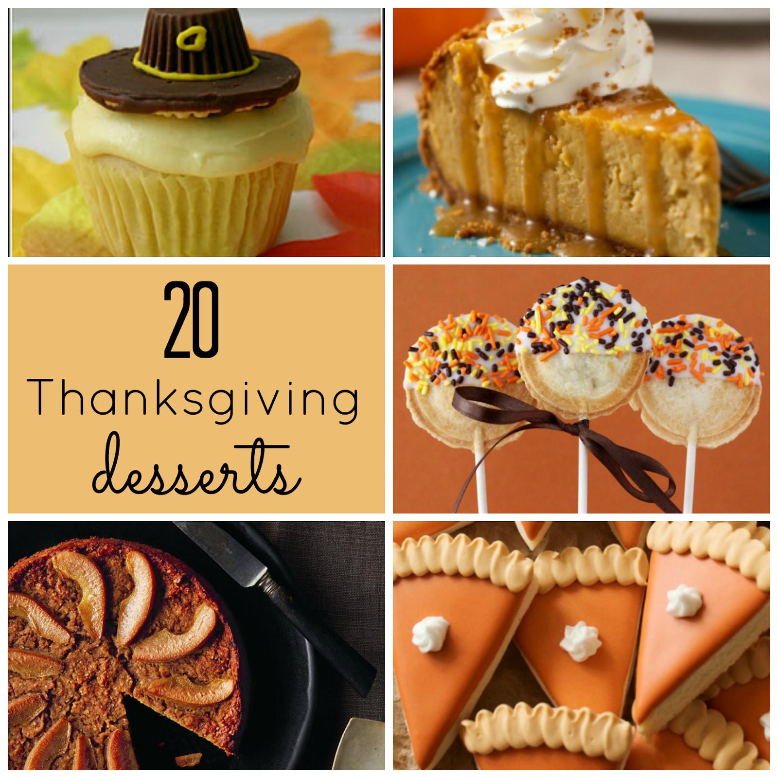 Thanksgiving Dessert Ideas  The Upstairs Crafter Good Ideas Thanksgiving Desserts