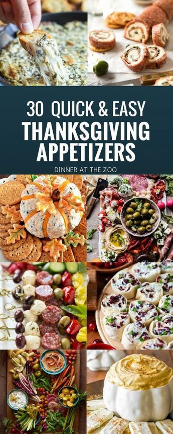 Thanksgiving Desserts 2019  30 Quick and Easy Thanksgiving Appetizer Recipes