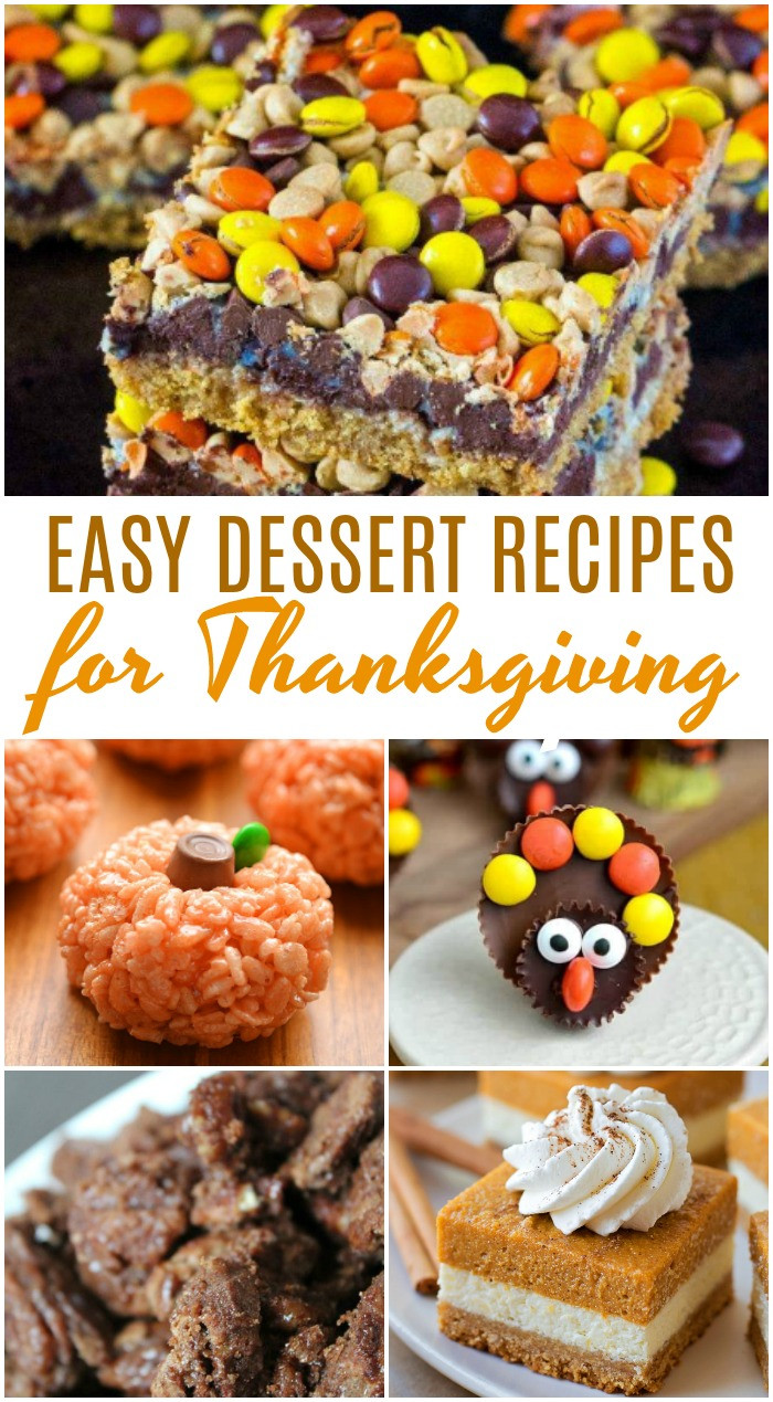Thanksgiving Desserts Easy  Amazing Thanksgiving Dessert Recipes