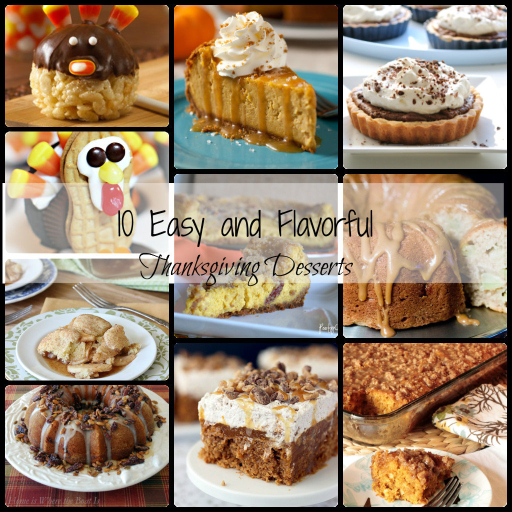 Thanksgiving Desserts Easy  10 Easy Thanksgiving Desserts Dimple Prints
