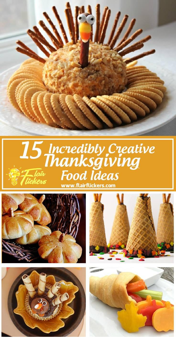 Thanksgiving Desserts List  Thanksgiving Food List 15 Creative Food Ideas for A