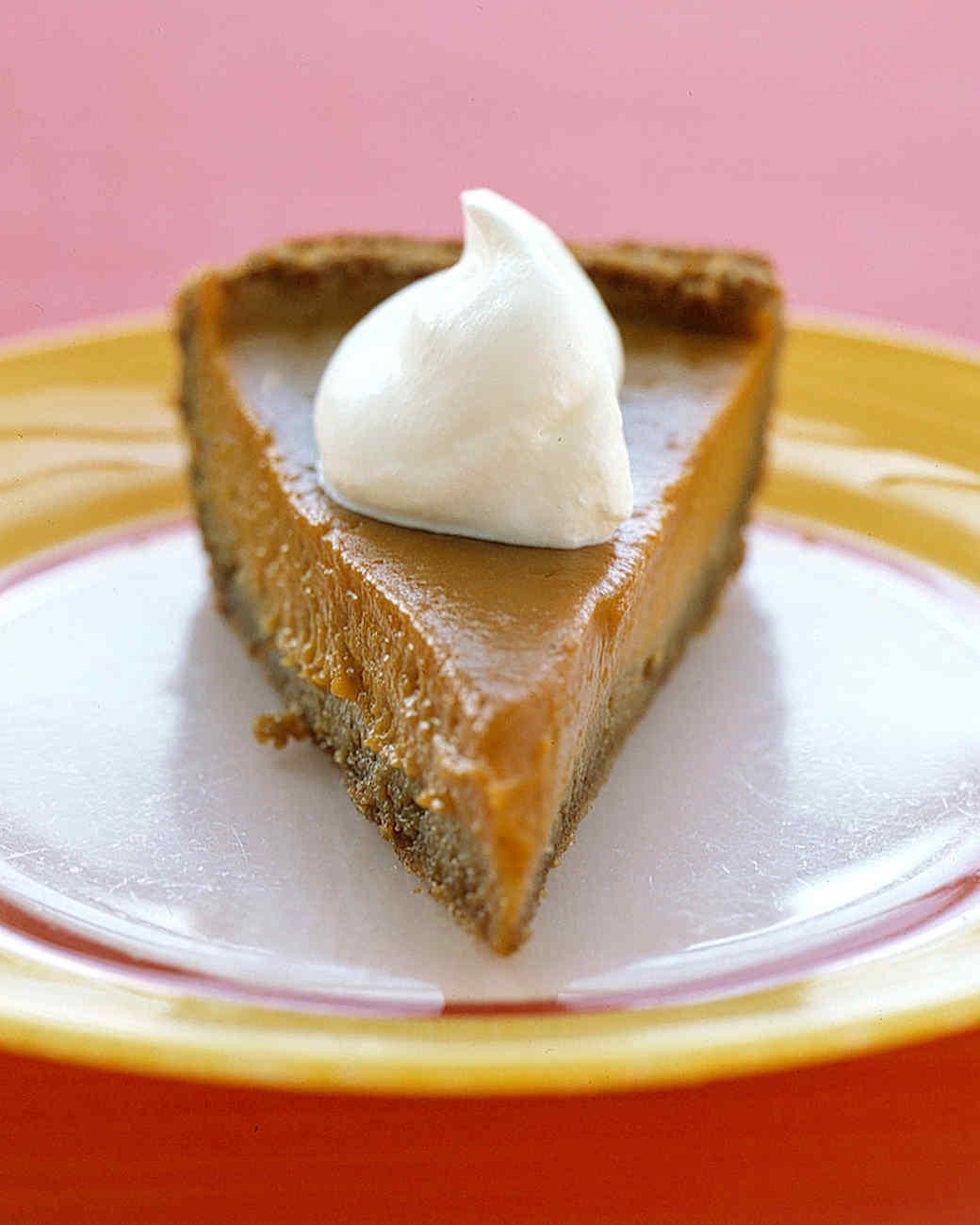 Thanksgiving Desserts Martha Stewart  Easy Thanksgiving Dessert Recipes