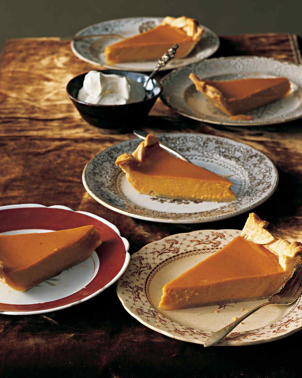 Thanksgiving Desserts Martha Stewart  Classic Pumpkin Pie Recipe