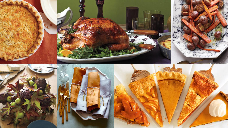 Thanksgiving Desserts Martha Stewart  Thanksgiving Recipes and Decor