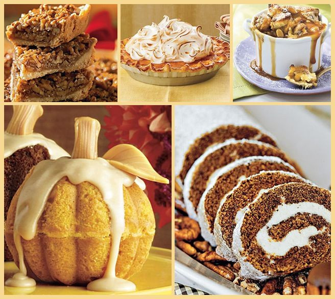 Thanksgiving Desserts Pinterest  Thanksgiving desserts Thanksgiving ♥