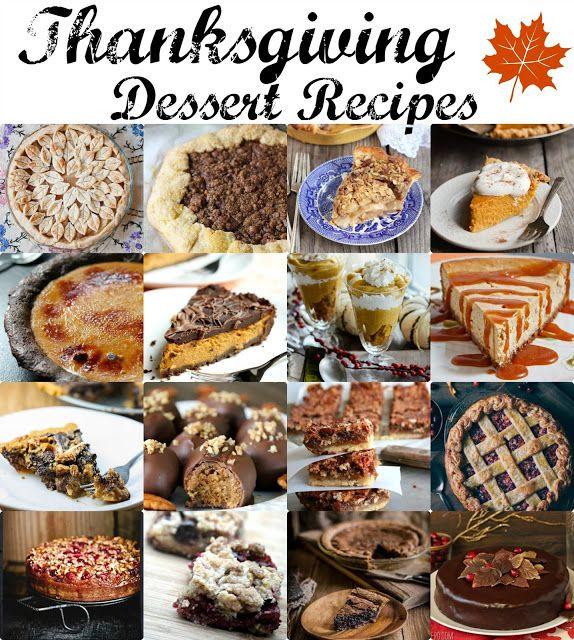 Thanksgiving Desserts Pinterest  Best of pinterest Thanksgiving desserts