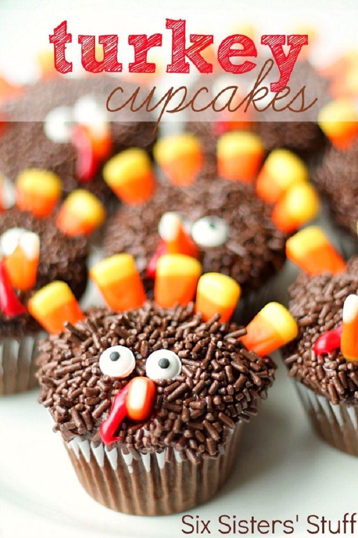 Thanksgiving Desserts Pinterest  Kids Friendly Thanksgiving Recipes Thanksgiving Turkey
