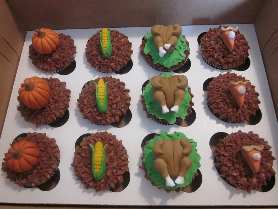 Thanksgiving Desserts Pinterest  Thanksgiving dessert Cupcakes