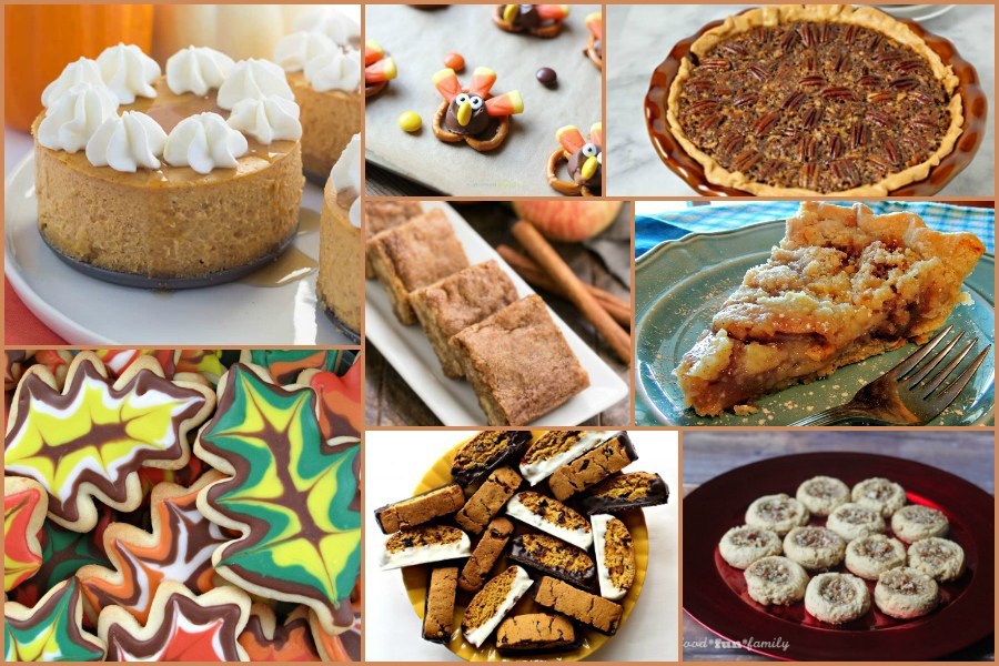 Thanksgiving Desserts Pinterest  Thanksgiving Dessert Recipes – Delicious Dishes Recipe
