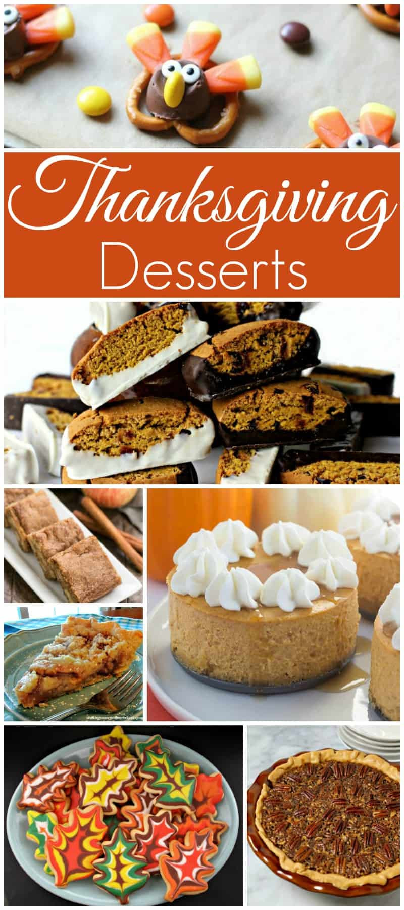 Thanksgiving Desserts Recipes  Thanksgiving Desserts and our Delicious Dishes Recipe Party