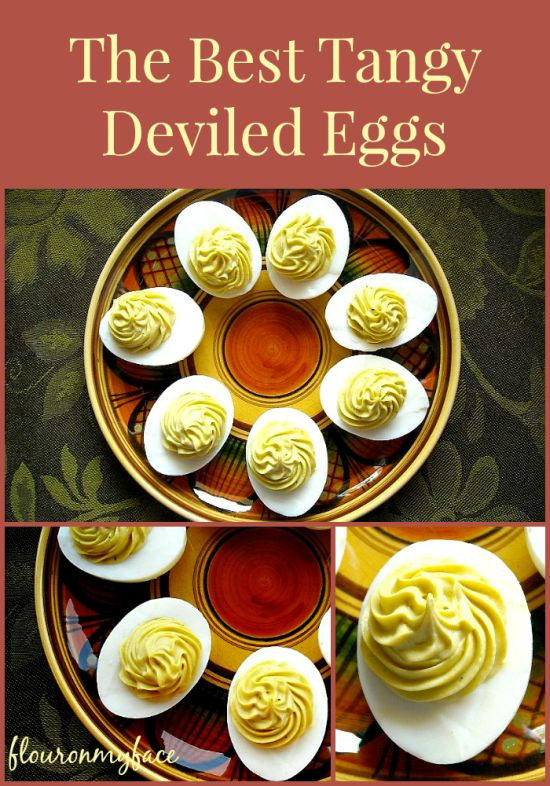 Thanksgiving Deviled Eggs  How to make Tangy Deviled Eggs