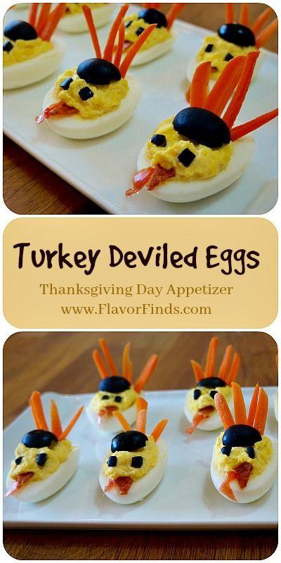 Thanksgiving Deviled Eggs Decorations  Best 25 Turkey deviled eggs ideas on Pinterest