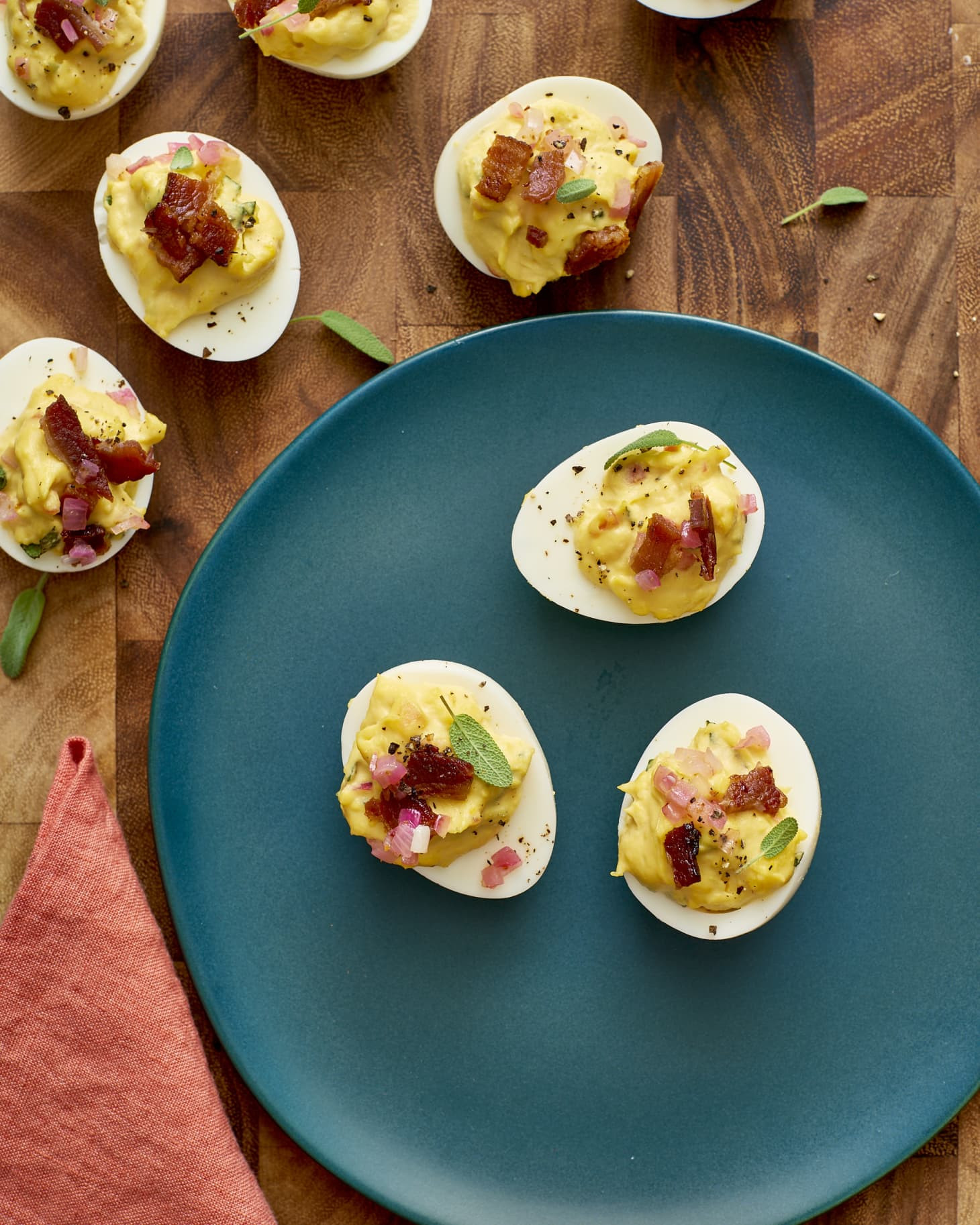 Thanksgiving Deviled Eggs  Thanksgiving Deviled Eggs