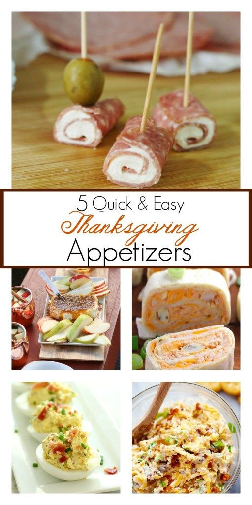 Thanksgiving Dinner Appetizers  The best Thanksgiving appetizer recipes that are quick and