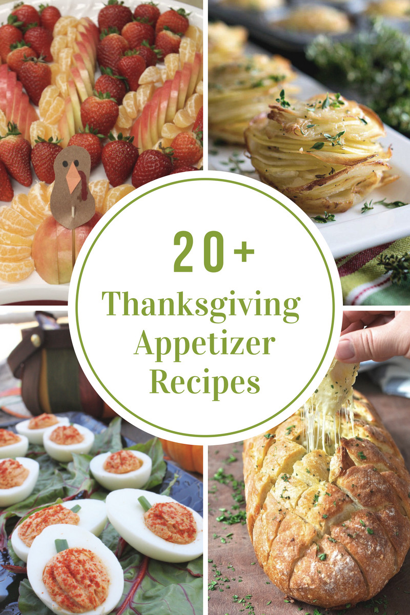 Thanksgiving Dinner Appetizers  Thanksgiving Appetizers The Idea Room