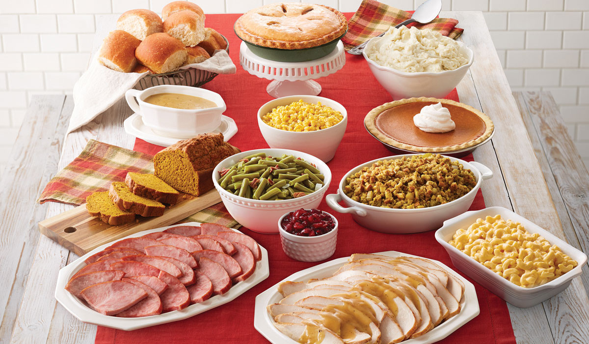 Thanksgiving Dinner Catering  Bob Evans Now fering To Go Thanksgiving Meals