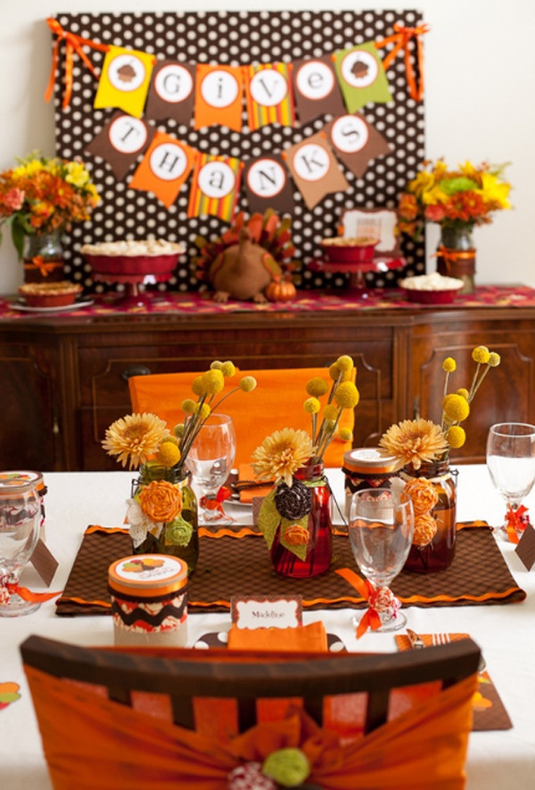 Thanksgiving Dinner Decorations  20 Gorgeous And Awesome Thanksgiving Table Decorations