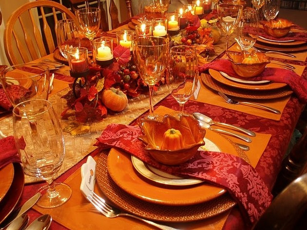 Thanksgiving Dinner Decorations  Thanksgiving Table 14 Pics